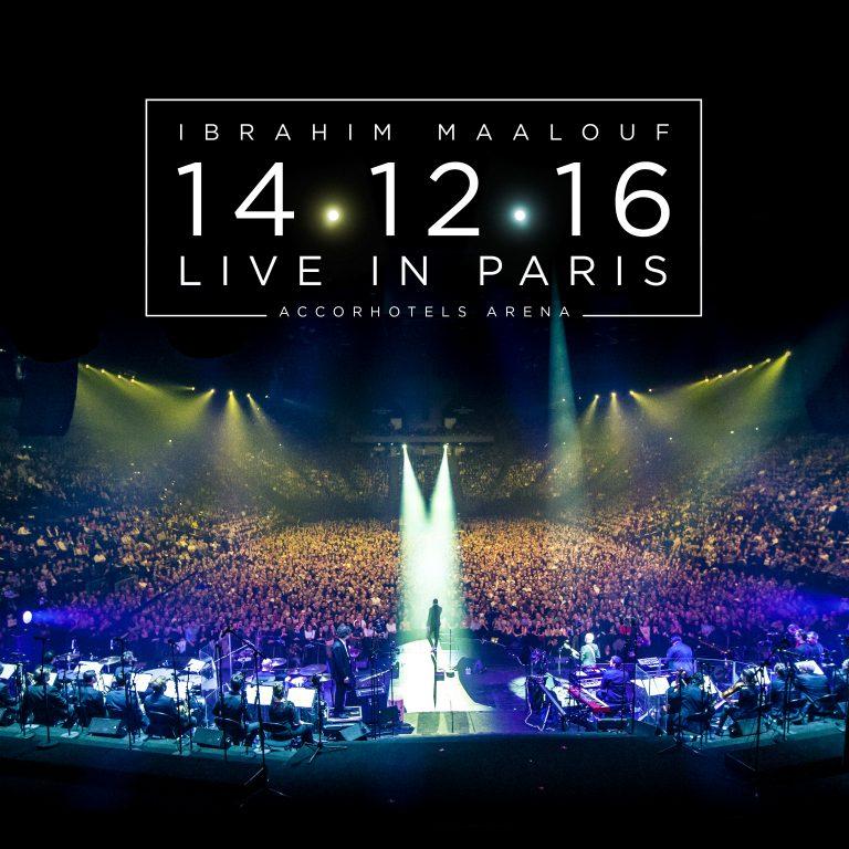 Le live du musicien Ibrahim Maalouf à AccorHotels Arena