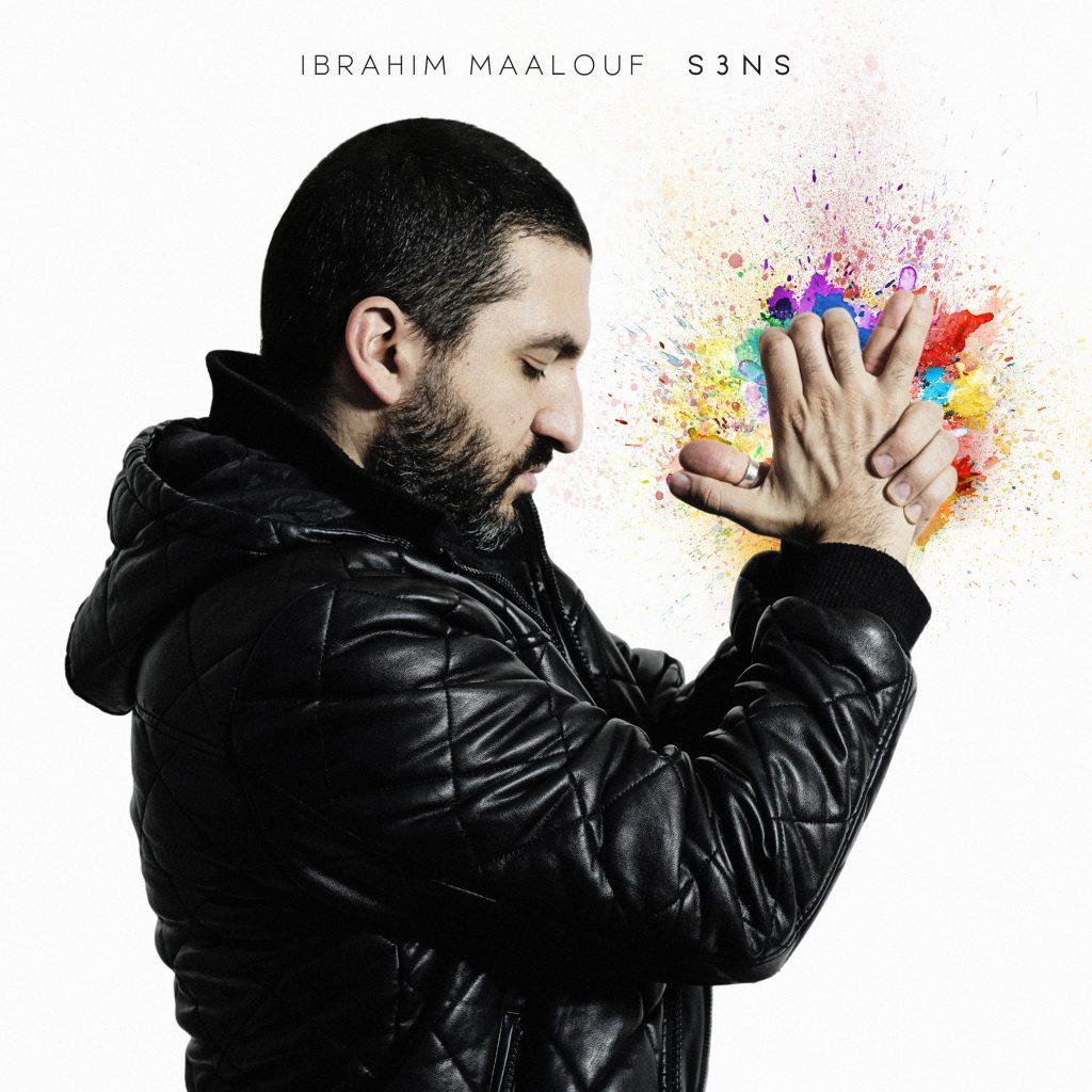 Cover de S3NS le dernier album de l'instrumentaliste Ibrahim Maalouf