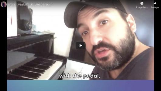Tutoriel de Piano, Ibrahim maalouf donne des cours de piano